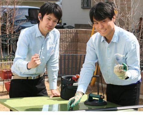 ガラスのトラブル救急車【岸和田市 出張エリア】の店内・外観画像3