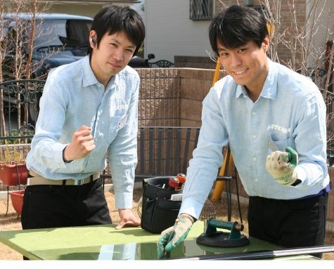 ガラスのトラブル救Q隊.24【和気郡和気町 出張エリア】のメイン画像