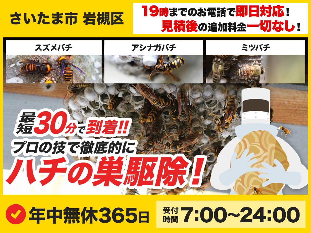 蜂の巣トラブル救急隊.24【さいたま市 岩槻区エリア】のメイン画像