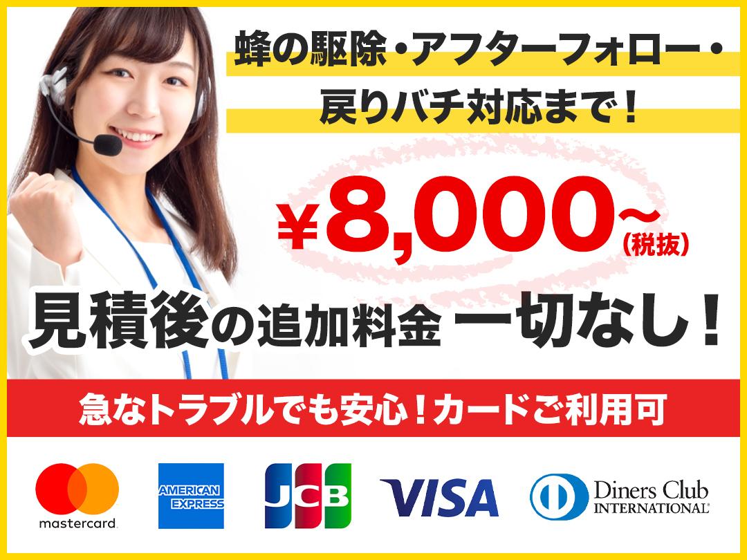 蜂の巣トラブル救急車.24【上尾市エリア】の店内・外観画像1