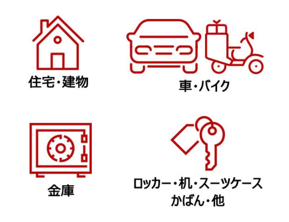 カギのトラブル救急車【津久見市エリア】のアピールポイント2