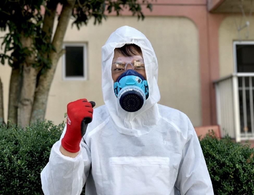 蜂の巣駆除専門救急車【大阪市 旭区エリア】のアピールポイント1